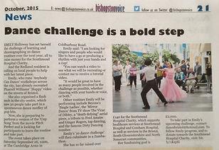 Dance charity challenge