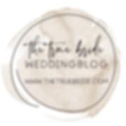 Featured On Button, Badge, Hochzeitsblog, the true bride