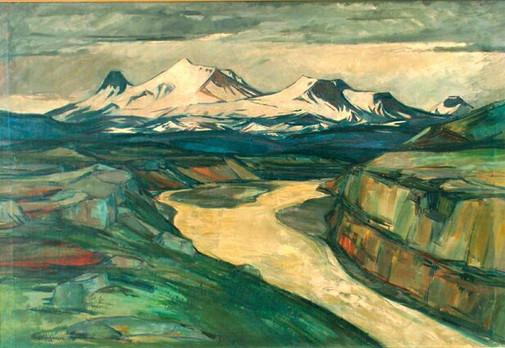 Kerlingarfjöll 1936 M - Kerlingarfjöll massif M