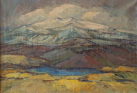 Jöklaland ÁÓ MH – Glaciated mountains MH