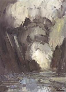 Grímsvatnagos 1934 M – Grímsvötn eruption 1934 M