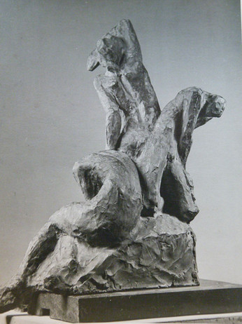 Útlagar 1925 (brons) – Outlaws 1925 (bronze)