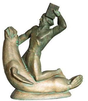 Sæmundur á selnum (gifs) ca. 1948 – The historical figure Sæmundur á selnum