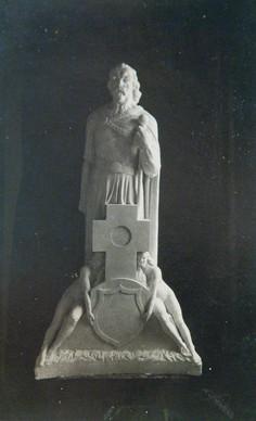 Goðorðsmaður (gifs) 1916