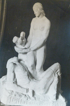 Loki og Sigyn kona hans (gifs), ártal óvíst – Loki and Sygin (no year)