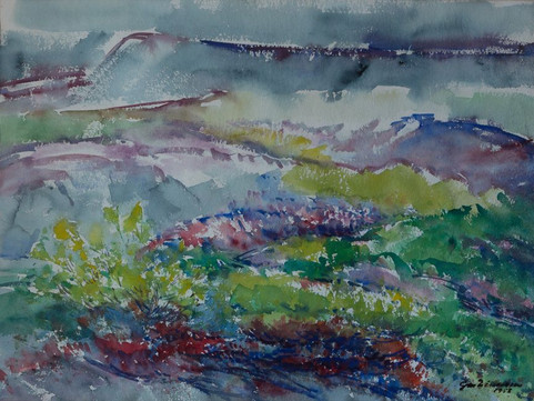 Land um haust 1958 H – Land as autumn moves in H