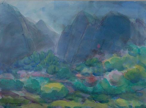 Klettar 1960 H – Cliffs H