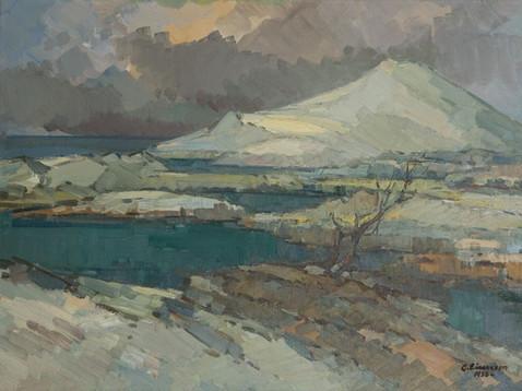 Veturinn og vatnið 1936 S – The winter and the lake  S
