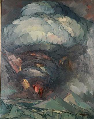 Grímsvatnagos 1934 S - Eruption of Grímsvötn 1934 S