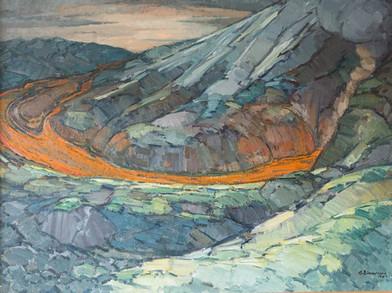 Heklugos 1947 S – Eruption of Mt. Hekla 1947 S