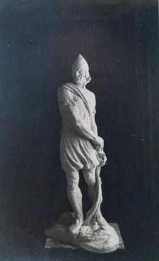 Víkingur eða Ingólfur Arnarsson (gifs) 1916