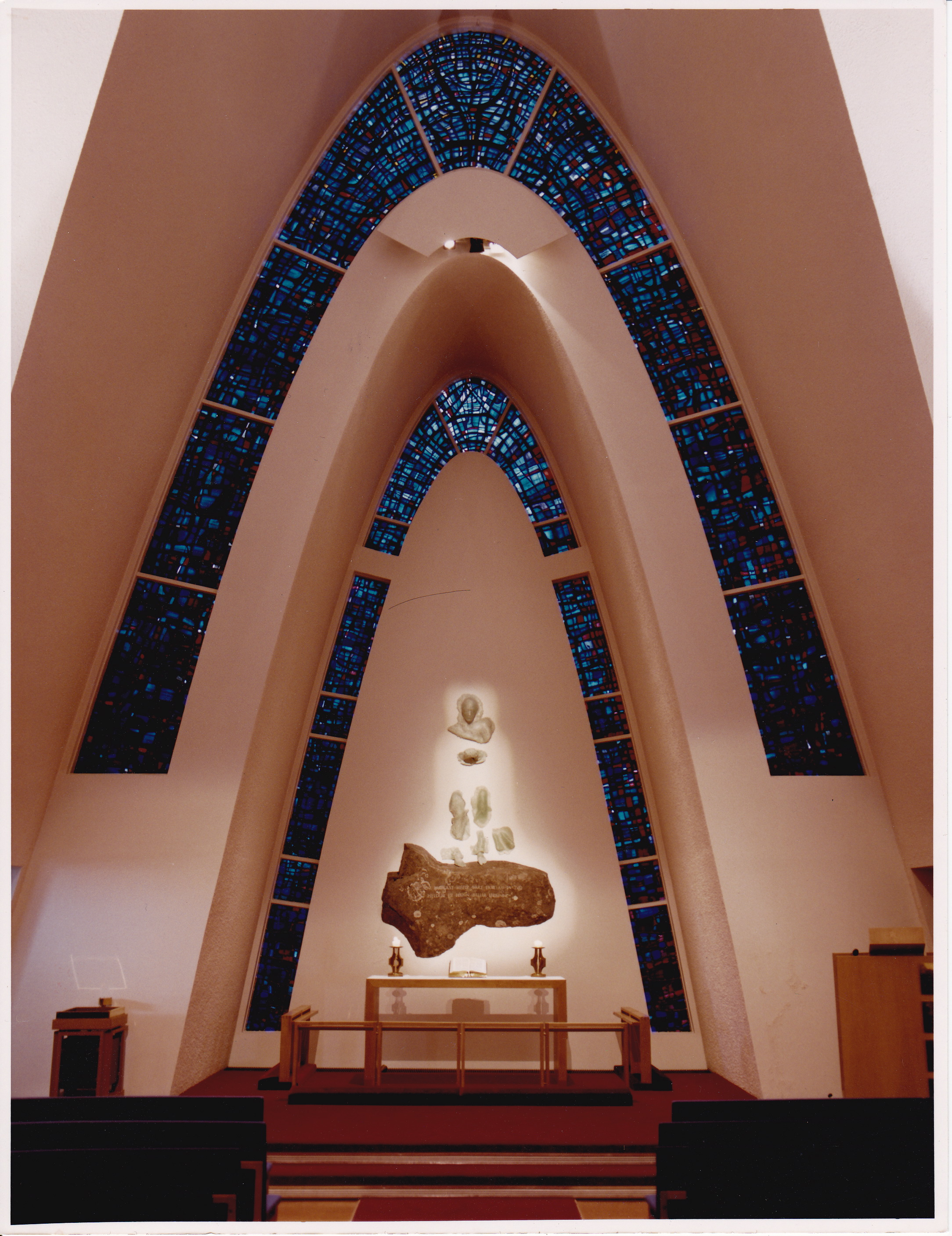 Altarpiece in Kópavogur Church. 1990