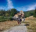 Ruta a caballo en la montaña palentina