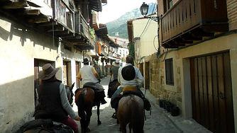 Ruta a caballo Cuevas del Valle