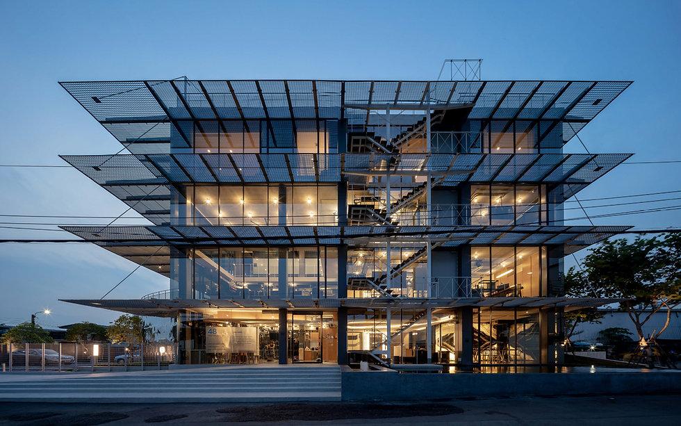 อาคารเงินมาธุรกิจ อาคารเขียว Green Building