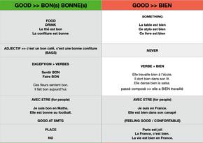 French Lessons in Paris _ Différence entre BIEN et BON