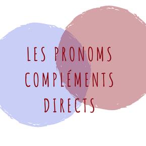 French lessons in Paris : Les pronoms compléments directs