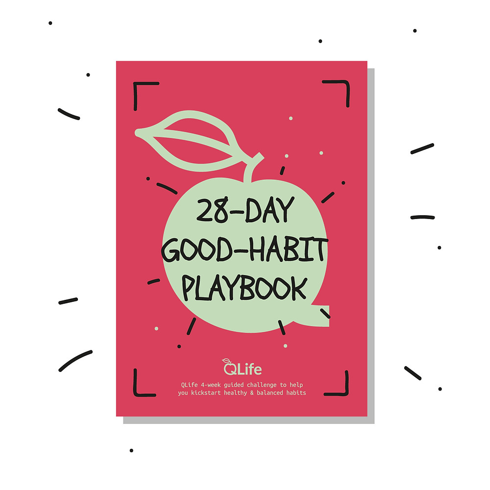 28-Day Good-Habit Playbook by Arta Citko - cover