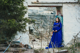 White Cliffs of Conoy maternity session