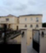 賃貸住宅施工事例/フランス産漆喰の外壁。