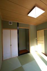 輸入住宅/住宅施工事例/洋間スタイルの和室