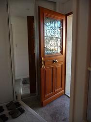 輸入住宅施工例/フランス製木製玄関ドア