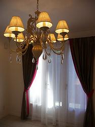 輸入住宅/住宅施工事例/ベルギー製のコンテンポラリーなシャンデリア。  