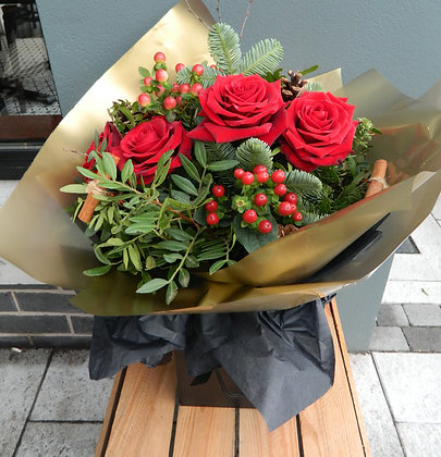 Luxury Red Velevet Rose Bouquet