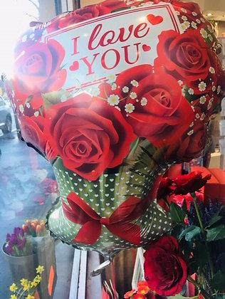I Love You baloon
