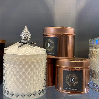 Rose Gold Candle   'Approx 40 hours burn time'