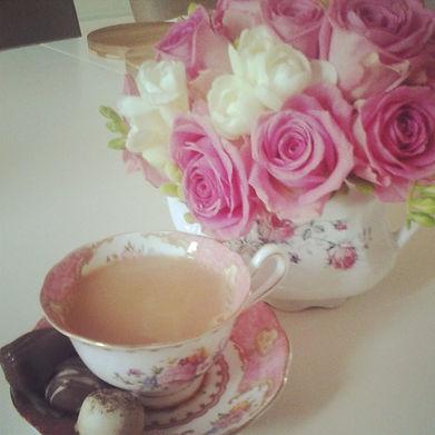 The Beautiful Flower Company Belfast signature teacup bouquet