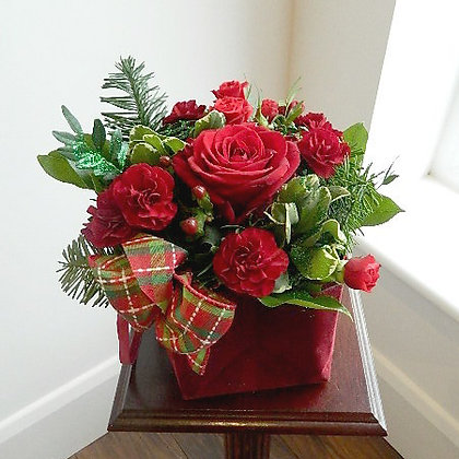 Sumptuous Red Velvet Bouquet in a Bag