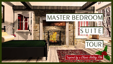 CID 4 MASTER BEDROOM SUITE TOUR with hol