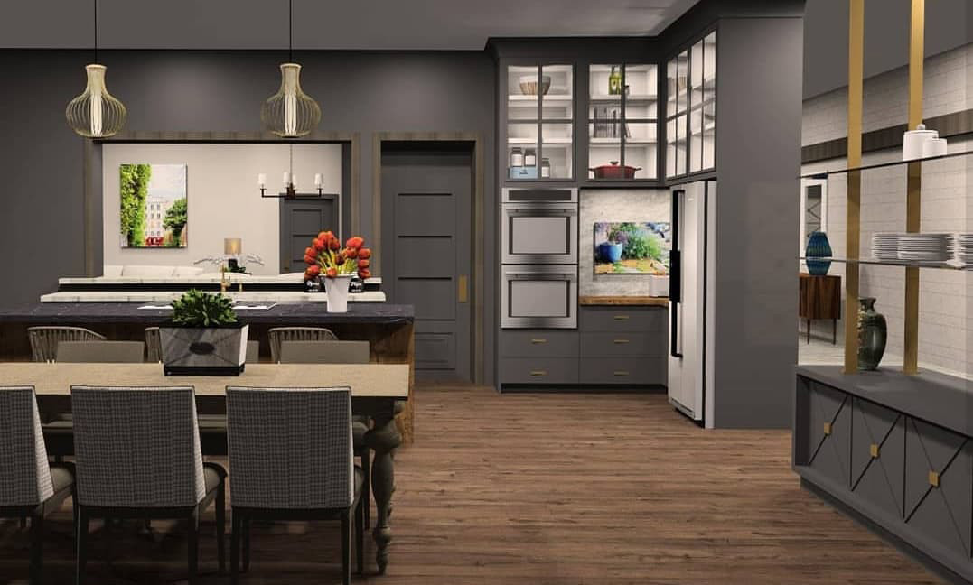Kitchen, view 2