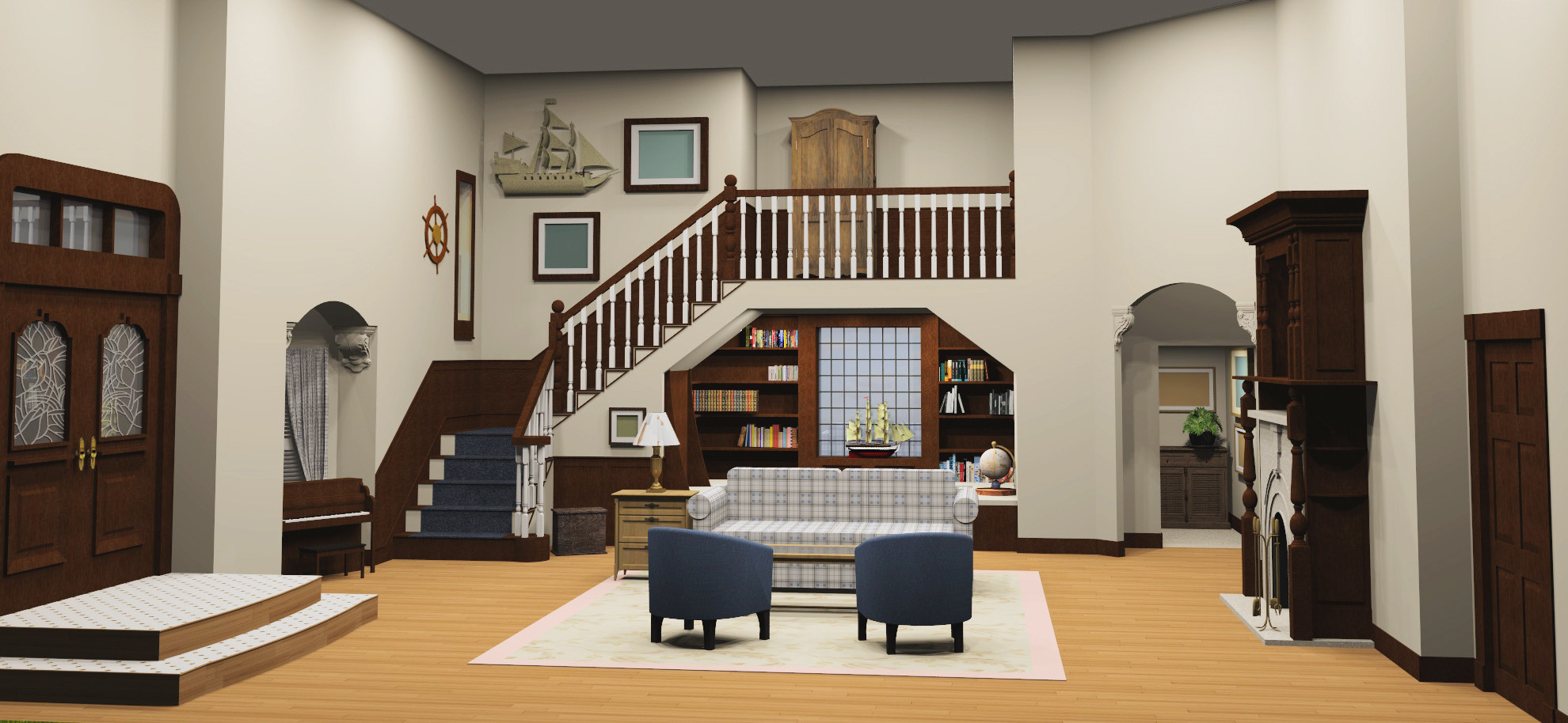 Full House Home Mockingbirdlane