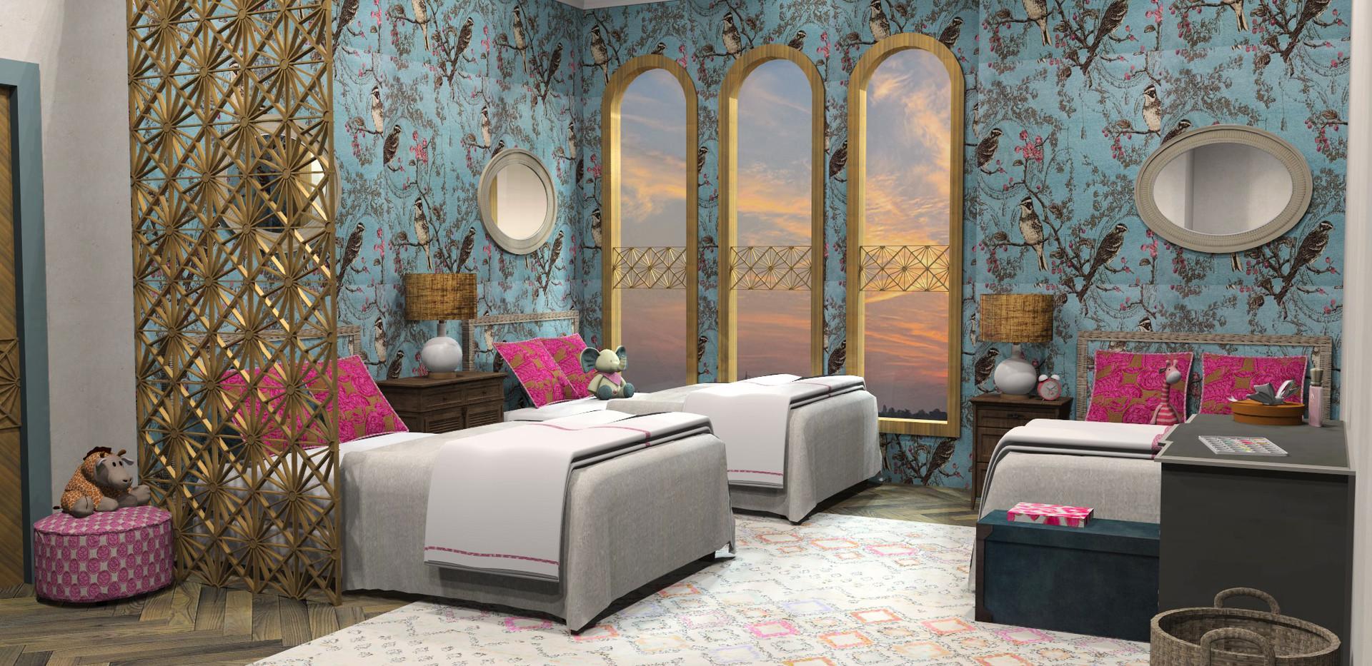 Teen Girls' Bedroom