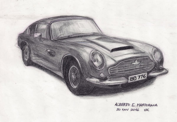 Sketch at 2016 HK Charter Rd Classic Car Club