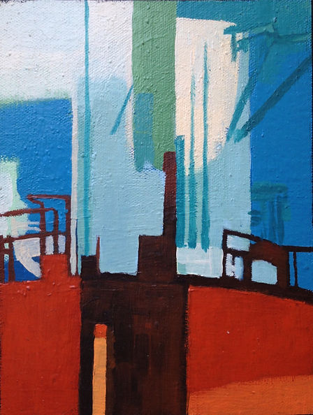 Study for Industrial landscape 3