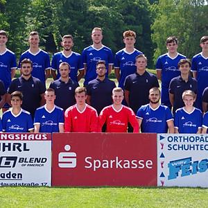Fusball Mannschaftsfoto