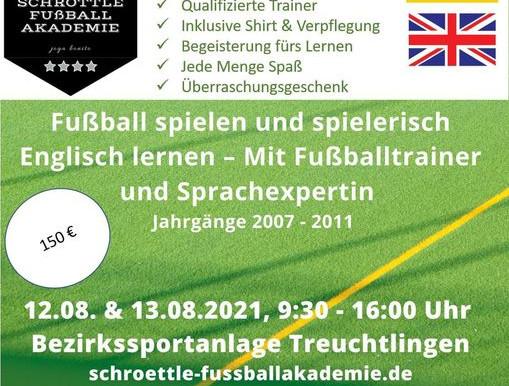 Fußball-Sprachcamp mit Simon Schröttle