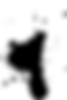 Salpicadura de la pintura negtra