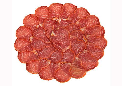 Lomo de bellota ibérico 100% raza ibérica loncheado