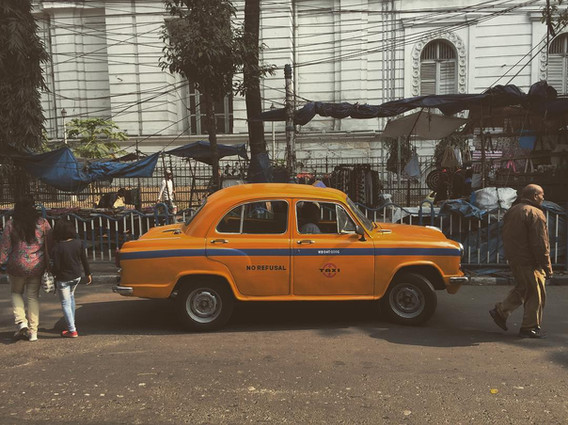 Staple look of Kolkata streets