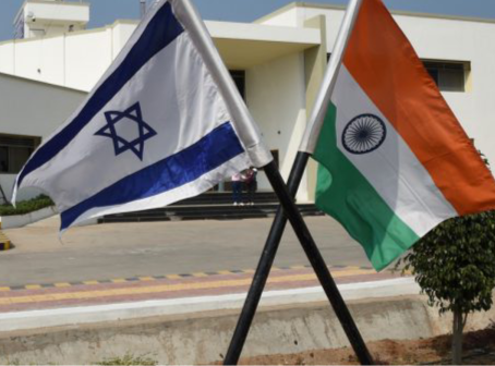 THE TIGHTROPE OF DIPLOMACY: INDIA- ISRAEL RELATIONS AND THE PALESTINIAN CONTEXT