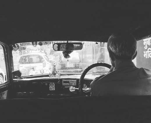 Cabs in Mumbai are a story of its own