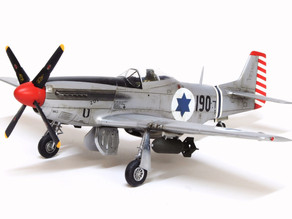 Israel's War of Independence Mustangs - Hasegawa 1/48 Scale