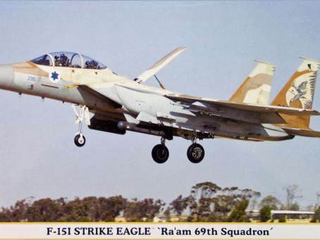 Israel's Striking Eagles - Hasegawa 72scale F-15D/I