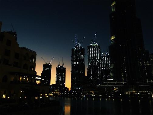 Nighttime in Dubai