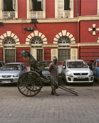 Handrickshaws of Calcutta