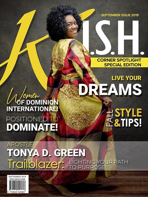 K.I.S.H. Magazine 2019
